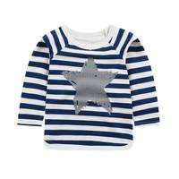 Baby Girls Tops Children T Shirts Long Sleeve 2018 Autumn Kids Tee Shirt Spring Striped Brand T-shirt Children Blusas Boys T Shirts