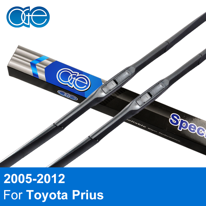 все цены на Oge Wiper Blades For Toyota Prius 2005 2006 2007 2008 2009 2010 2011 2012 Windscreen Rubber Car Accessories онлайн