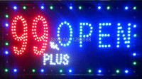 Free Shipping Animated Motion Running LED Business Shop LED Flashing Board Business Light Sign LED Advertisement