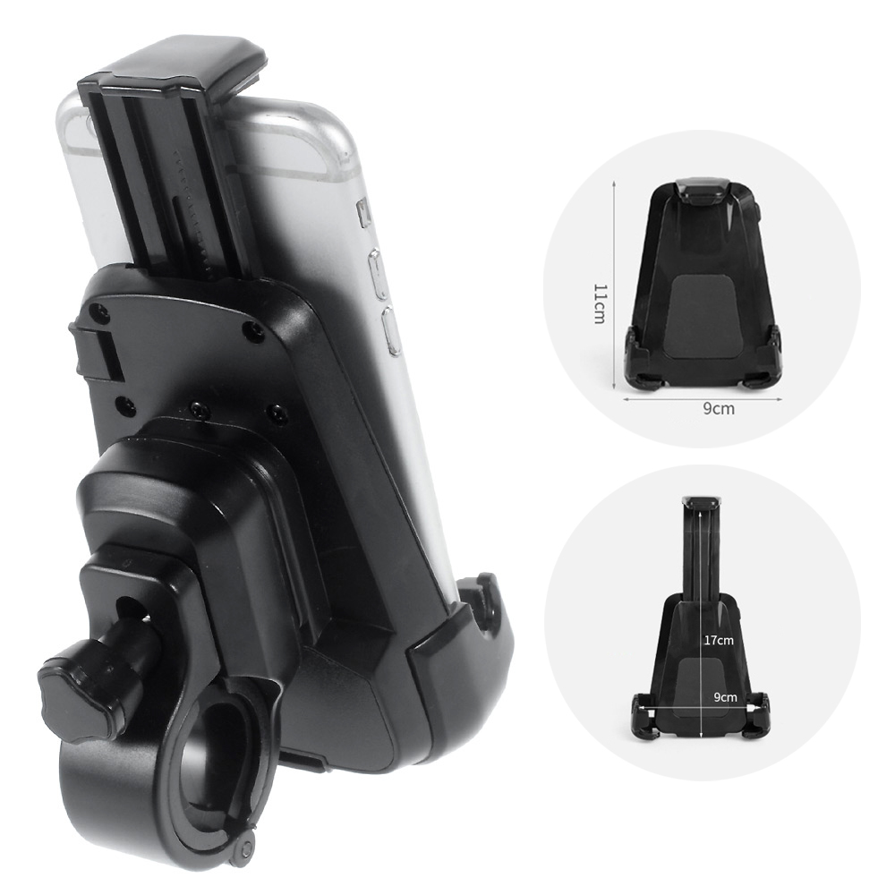 For Samsung S7 Mobile Phone Motorcycle Bicycle Mount Holder Stand for iPhone 6 6s Plus GPS Bicycle Holder, Max Size: 16 x 9cm