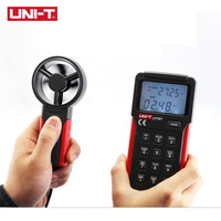 UNI T UT361 Anemometer wind speed temperature tester Wind Count Units Switch Wind Speed Display