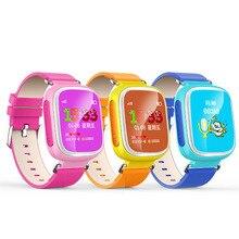 Mode q80 kind gps smart watch sos anruf location tracker Smartwatch Unterstützung Sim-karte Für Kid Safe Anti-verlorene Monitor Uhr geschenk
