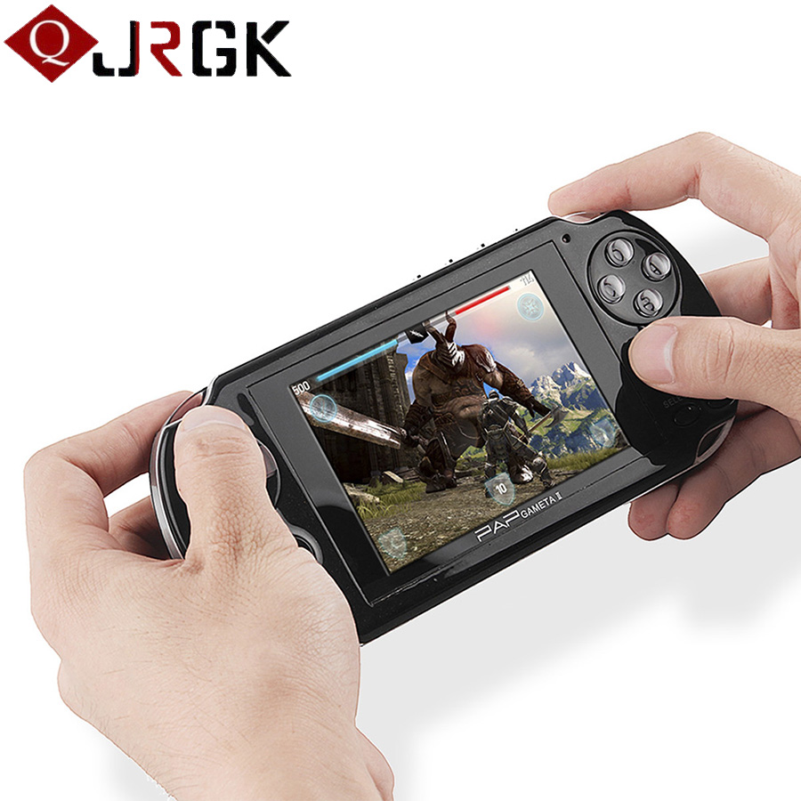 4 3 inch HD TFT 4GB Handheld Game Consoles Portable 64 Bit Mini Video Games Players
