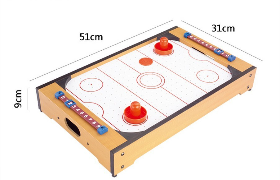 MDF Children Hockey table Indoor Ice hockey Air sports 48inch air hockey table hockey tables children play sports equipment with electrical air powered motor for real air flow