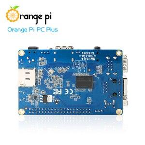 Image 2 - Orange Pi PC Plus 1GB + 8GB Emmc Flash Miniเปิด Sourceคณะกรรมการเดี่ยว,สนับสนุนพอร์ตEthernet 100M/Wifi/กล้อง/Hdmi/IR/MIC