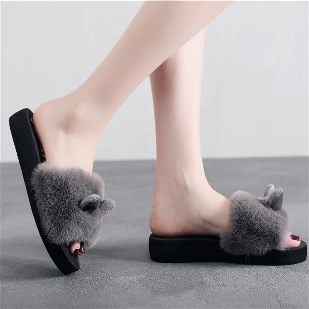 цена на With slippers new 2018 autumn/winter fashion women's shoes sell like hot cakes contracted leisure ladies cotton shoes at home