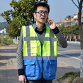 Reflective Vest, Working Clothes Provides High Visibility Day & Night For Running, Cycling, Walking Etc. Warning Safety Vest