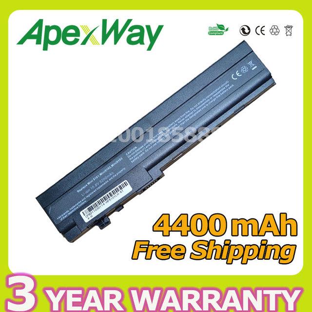 Apexway 4400 mah da bateria do portátil para hp mini 5101 5102 5103 at901aa hstnn-db0g hstnn-ub0g hstnn-i71c hstnn-ib0f hstnn-ob0f