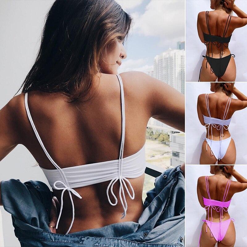 HTB1FqIbeL1H3KVjSZFBq6zSMXXaA Peachtan Sexy bikini 2019 Mujer swimwear Women biquinis Feminino bathers Ruffles bathing suit Push up swimsuit Female beach wear