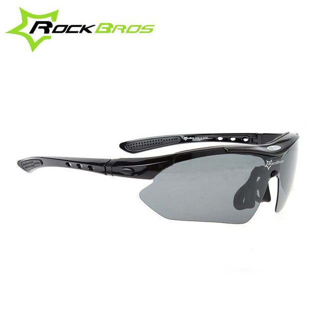 556592f54d ROCKBROS Polarized Sports Men Sunglasses Road Cycling Glasses Mountain Bike  Bicycle Riding Protection Goggles Eyewear 5 Lens