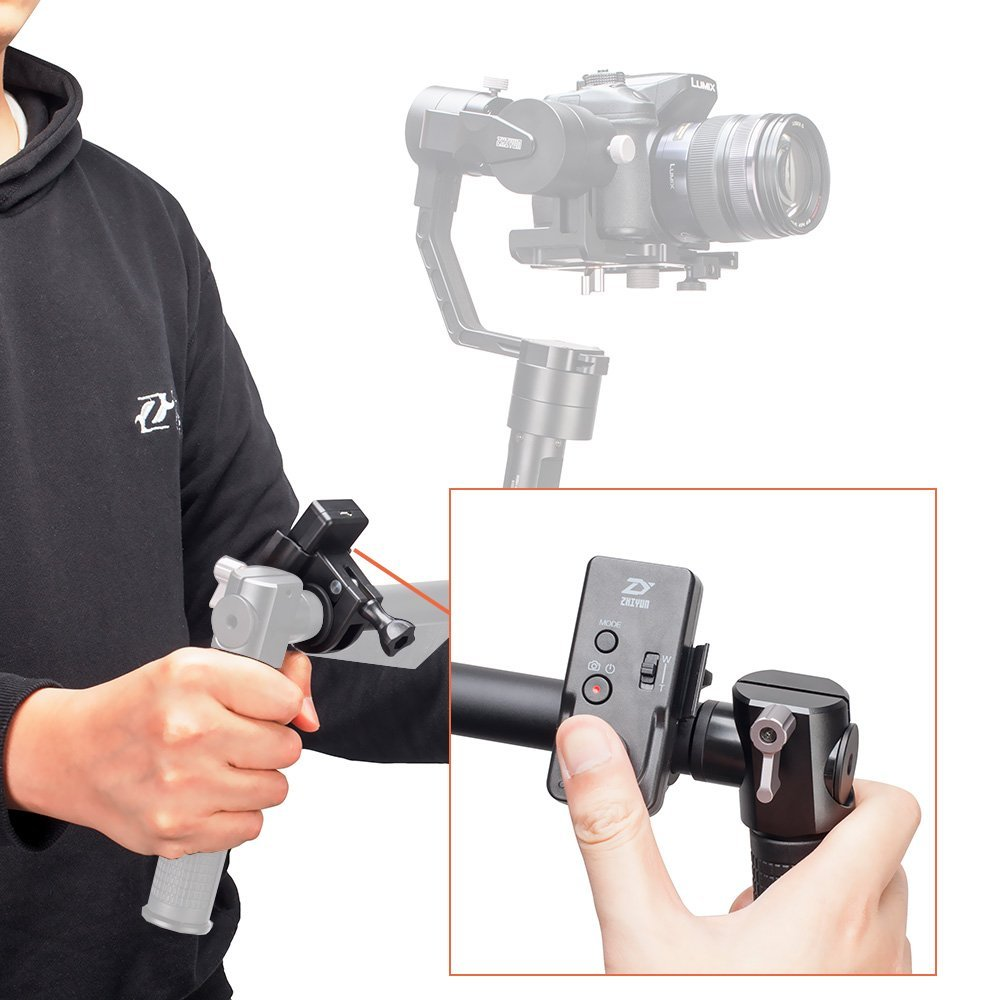 EU Stock Zhiyun ZW-B02 Wireless Controller for Zhiyun Crane 2, Crane-M, Smooth 3, Smooth-Q and Rider-M Gimbal Stabilizer цена