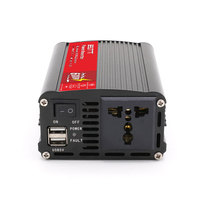 Free shipping BELTTT 300w dc12v ac220v 600Watt inversor with two USB output