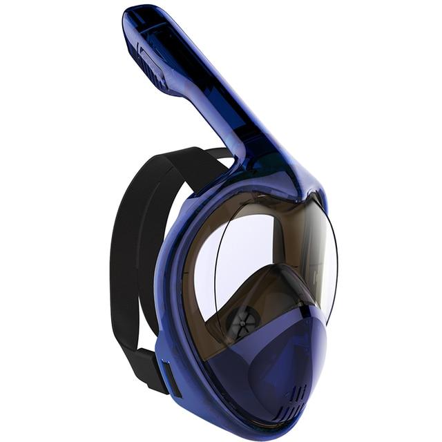 2020 Hot Diving Mask Scuba Mask Underwater Anti Fog Full Face Snorkeling Mask Women Men Kids Swimming Snorkel Diving Equipment 3