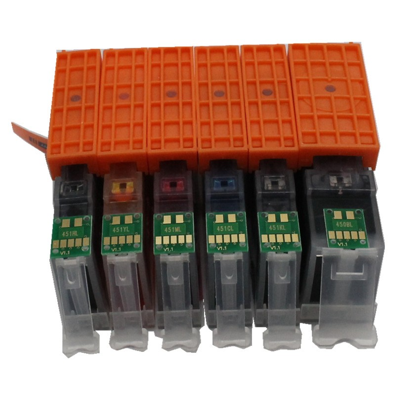 18 ink for canon 770 771 PGI 770 PGBK CLI 771 compatible ink cartridge full ink For canon PIXMA MG7770 printer-in Ink Cartridges from Computer & Office    2