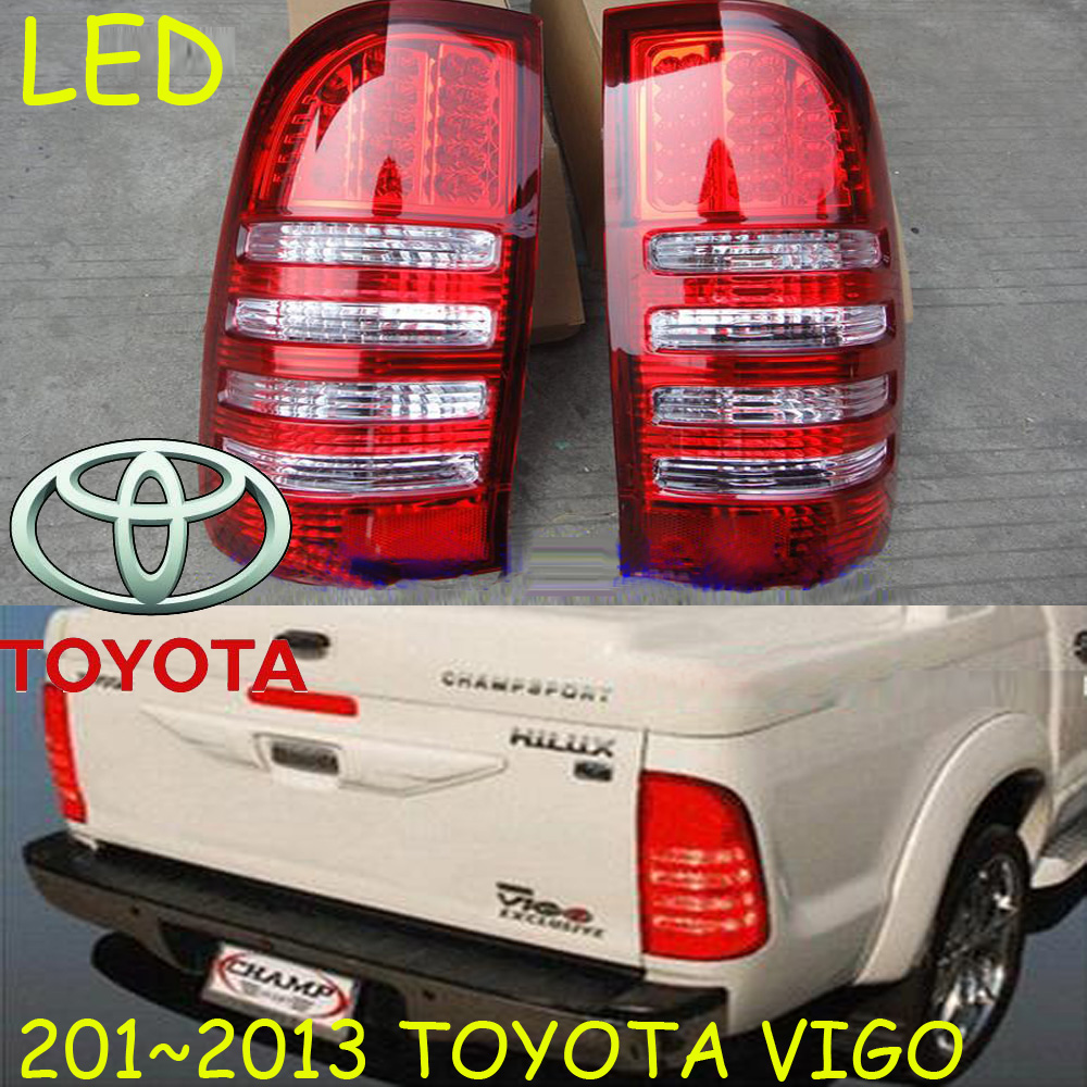 car-styling,Vigo Taillight,2012~2014,led,Free ship!2pcs/set,Vigo fog light;car-covers,Chrome,Vigo tail lamp,Vigo Hilux car styling yukon taillight 2015 2017 2pcs set led free ship yukon fog light chrome yukon tail lamp car detector yukon