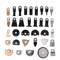 34Pcs Oscillating Multi Tool Saw Blades Accessories kit For Fein Dremel Bosch