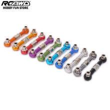 HPI RS4 RCAWD Регулируемый Галстук-Стержень, Прицепное Устройство Рука Усилитель Руля Ссылка для Rc Хобби Автомобилей 1/10 HPI RS4 113696 Алюминиевого Сплава 6061-T6