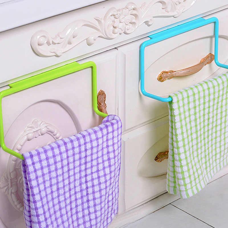 Organizer do kuchni ręcznik półka wisząca uchwyt szafka łazienkowa drzwi szafki tylny wieszak przybory kuchenne akcesoria Cocina