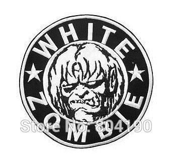 WHITE ZOMBIE ROB Heavy Metal Band Music Iron On Sew On Patch Tshirt TRANSFER MOTIF APPLIQUE