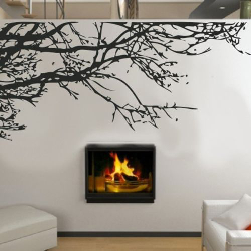 Home Decor Art Tree Wall Sticker Removable Mural Decal: Hot Sale DIY Home Decor Stunning Tree Branch Removable