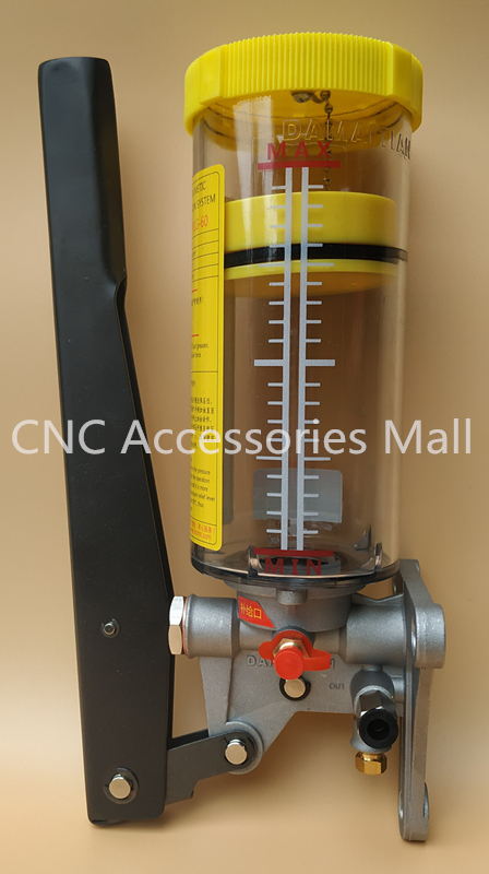 MTLG 60 manual grease pump with pressure relief