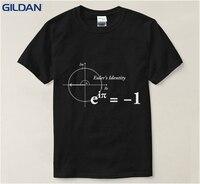 Wiskundige Formule Mannen T-shirt Zomer Koop 100% Katoen T-shirt Cool Tops Casuals T-Shirt Mannen Katoen