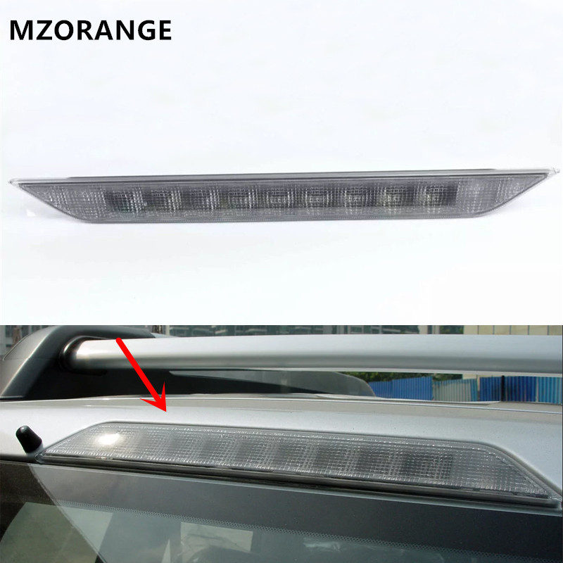 MZORANGE for Nissan X-trail T31 Xtrail 2008 2009 2010 2011 2012 2013 Car High Positioned mount Rear Third Brake light stop lamp for nissan qashqai 2008 2009 2010 2011 2012 2013 car inner decoration trim