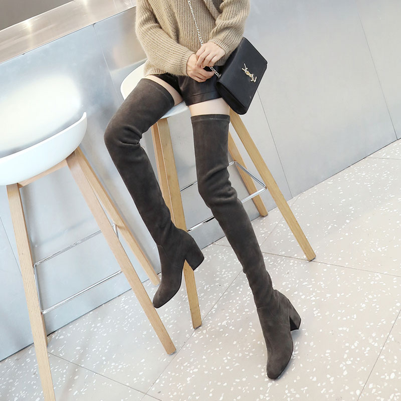 thigh high boots winter boots women botas botines mujer2017 botte bottine chaussure femme hiver laarzen stivali donna cuissardes womens winter boots women snow boots ankle boots botas mujer bottine femme bottes d hiver pour femmes laarzen dames winter shoes