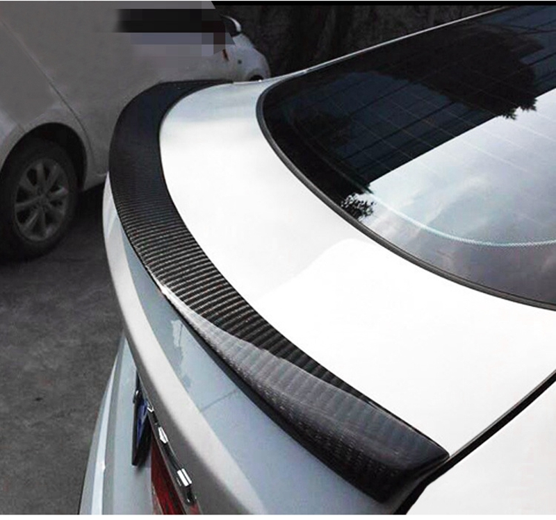 MONTFORD Automobiles Carbon Fiber Rear Roof Spoiler Wing Car Styling For BMW X Series X4 F26 Xdrive25i Xdrive28i 2014 2015 2016 f26 suv rear trunk lip genuine carbon fiber gloss black back wings spoiler for bmw x4 2014 xdrive20i xdrive28i xdrive35i
