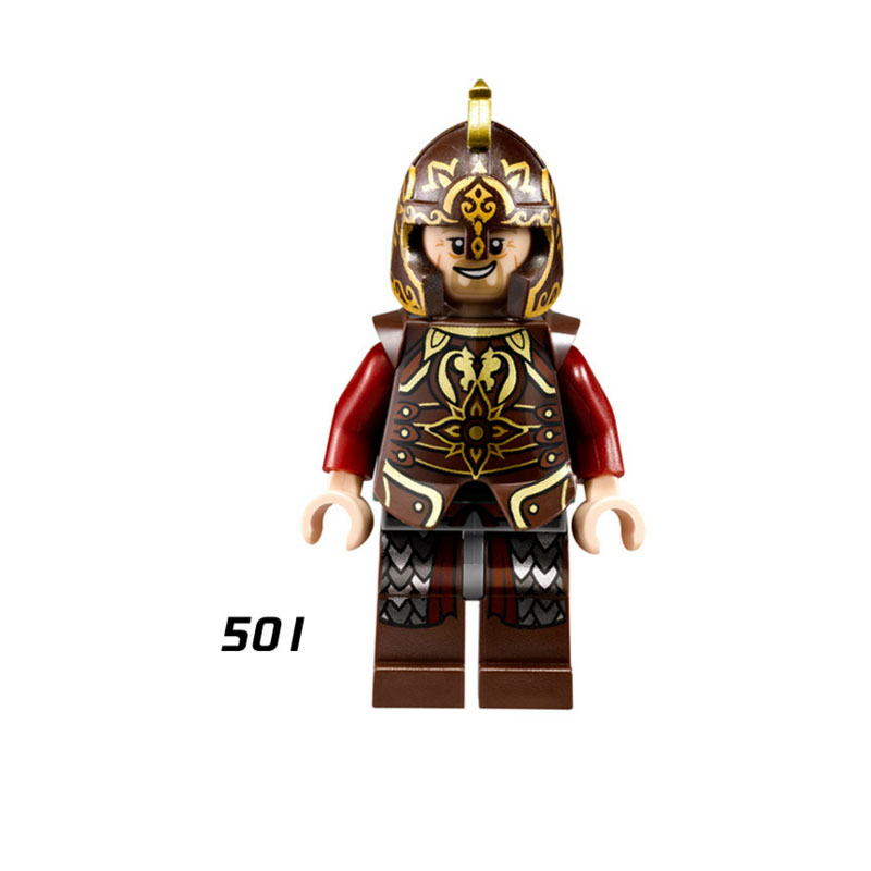 8PCS Lord of the Rings Soldier of Gondor Bricks Model Figure Building Blocks Toy