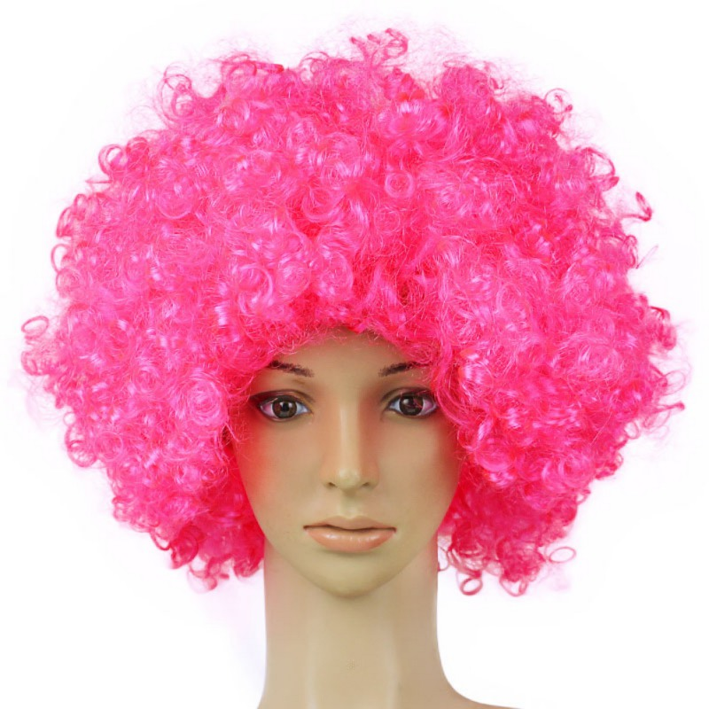Event & Party Reasonable Christmas Party Synthetic Hair Performance Wavy Round Clown Wig Hair Statement Fans Wig Peluca Cosplay Hair