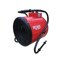 Пушка тепловая электрическая Ресанта ТЭП-5000К1 (круглая) (3 режима мощности 30/2500/5000 Вт, наличие решетки, площадь обогрева до 50 кв.м)