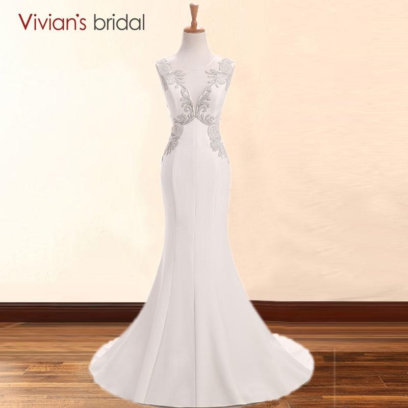 विवियन ब्राइडल व्हाइट - विशेष अवसरों के लिए ड्रेस