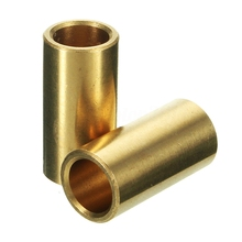 3Pcs Copper 8mm Bearing Bushing Sleeve 3D Printer Slider Accessory 8*11*22mm 10pcs 8mm bearing ultimaker copper sintered bush dintered self lubricating diy 12 8 15 11 8 22 11 8 30 mm for slide block