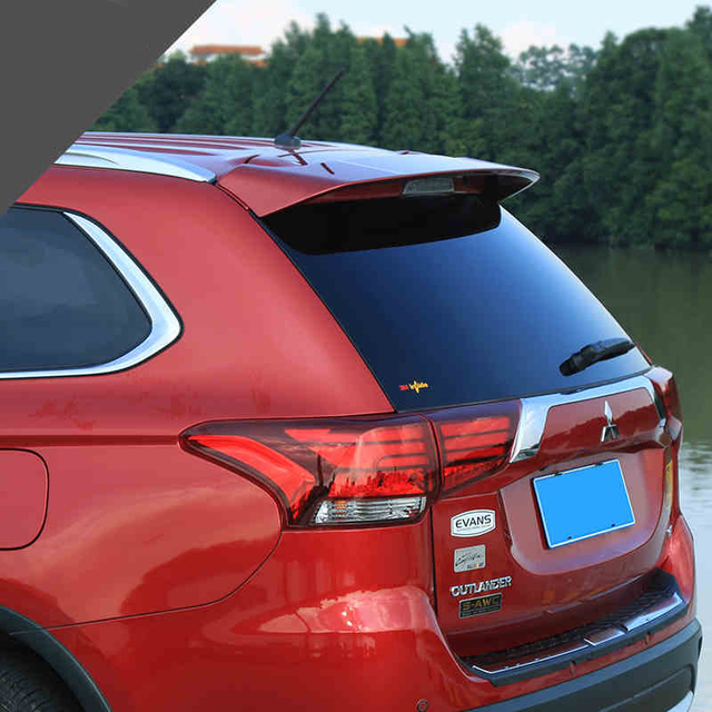 For Mitsubishi Outlander 2016 2017 Rear Wing Spoiler Trunk Boot