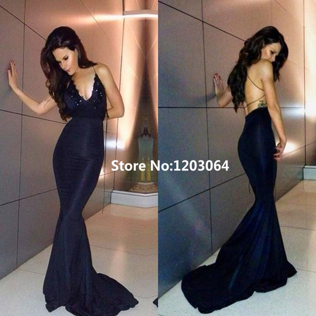 Sexy Backless Prom Dresses