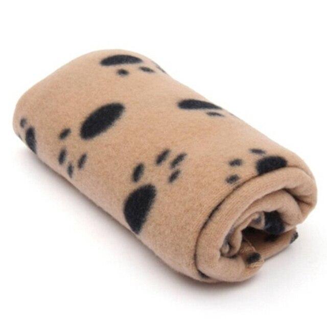 Soft Pet blanket Dog Cat Blanket Pet Mat 60x70cm Three Colors