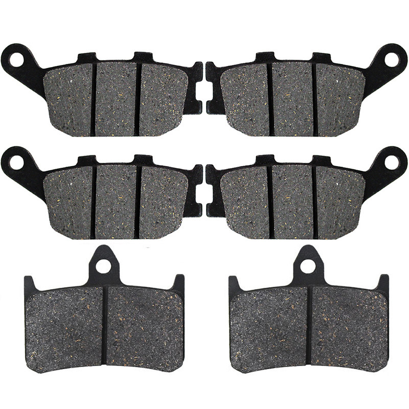 Motorcycle Front and Rear Brake Pads for HONDA CB1000F 1993-1997 VTR 1000F Super Hawk 1998-2005 VTR1000F Firestorm 97-06
