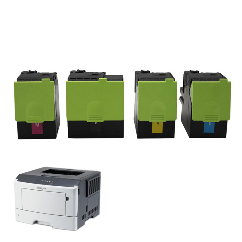 Toner 310 for <font><b>Lexmark</b></font> CX 310 toner cartridge with Original stable chip CX310 410 510 for <font><b>Lexmark</b></font> <font><b>CS310</b></font> CX410 CX510 laser printer image