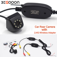 New Classic CCD HD Car Rear View Camera Wide Angle Waterproof 8 LED With 2 4G