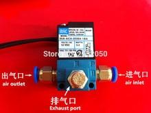 MAC 3 Portas Válvula Solenóide De Controle de Impulso Eletrônico 35A ACA DDBA 1BA Com Silenciador De Bronze