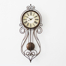 Meijswxj 8 inches Wall Clock Saat Relogio de parede Digital Clock Reloj Duvar saati Retro Living Room Bedroom swing wall clocks