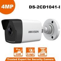 In Stock 4 Megapixels POE IP Camera DS 2CD1041 I Indoor Ooutdoor Fixed Day Night Vision