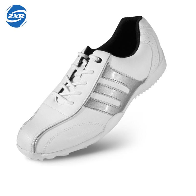 Comprehensive Waterproof Membrane Super Light Soft as Cushion Spiked for Anti-Skidding Microfiber Material Sports golf shoes