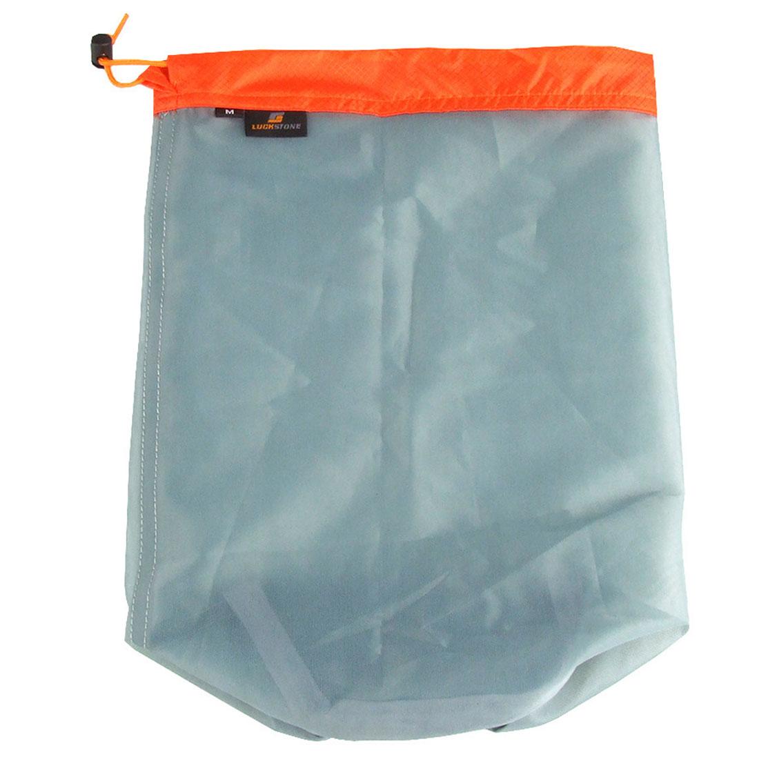 Set Mesh Sack Outdoor Organizer Clothes Drawstring Laundry S-XXL Ultralight