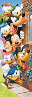 3D Diamond Painting Cross Stitch Cartoon Mickey Mouse Donald Duck Diamond Embroidery Full Painting Rhinestones Christmas