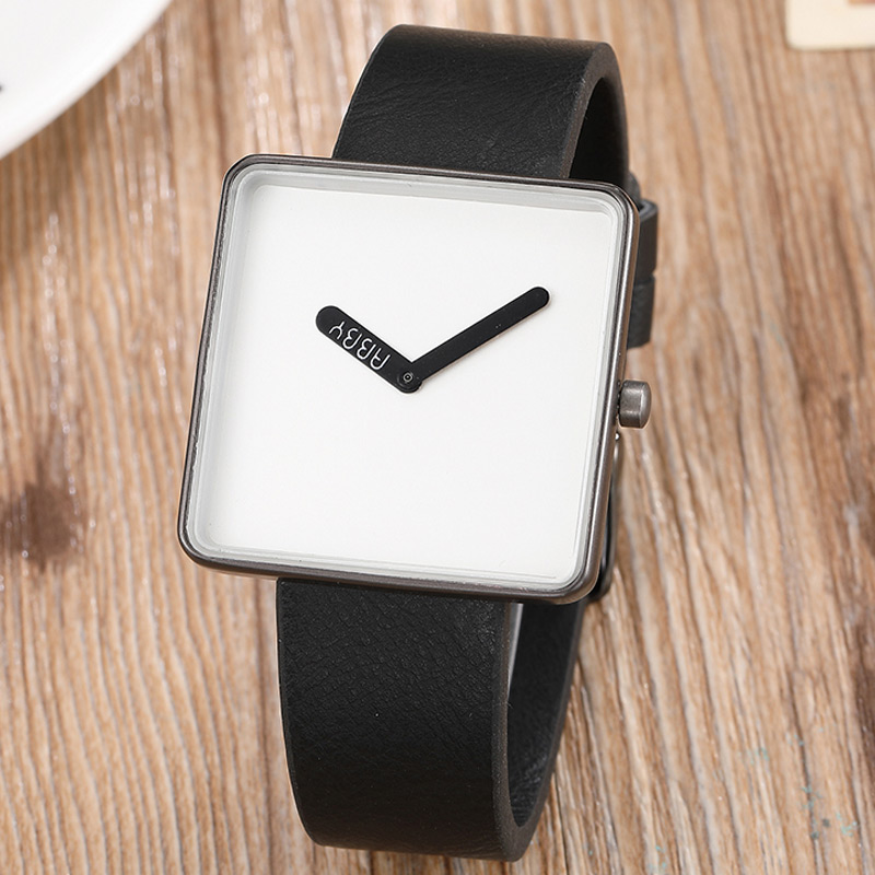 Unique Womens Fashion Watch Square Minimalist Watch Casual Leather Bracelet Lady Clock Simple Quartz Relogio Feminino WhatchUnique Womens Fashion Watch Square Minimalist Watch Casual Leather Bracelet Lady Clock Simple Quartz Relogio Feminino Whatch