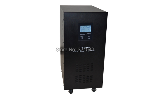 Industrial Level low frequency 10000VA/7000W Pure Sine Wave Solar Inverter with charger UPS