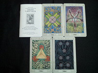 78pcs/set Aleister Crowley Thoth Tarot cards portable size board game card set all in English