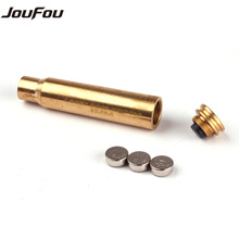 JouFou Hunting Rifle Scope Boresighter Collimator CAL.8mm Cartridge Calibration Instrument Red Laser Accessories